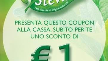 Misura Stevia, stampa il buono sconto da 1 euro