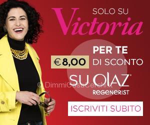 Buono sconto Olaz Regenerist su Victoria50.it