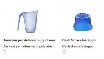 Dash Smacchiatappo o Dosatore omaggio con Desideri