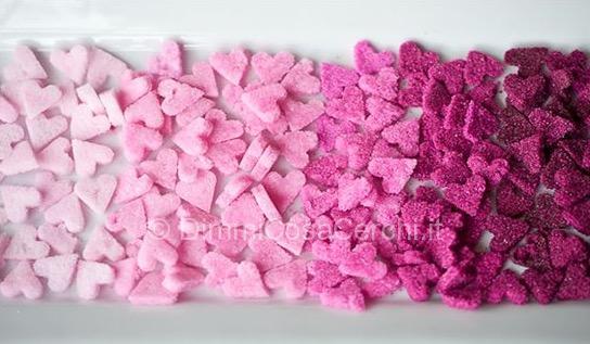 Cuoricini di zucchero per San Valentino