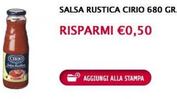 coupon cirio