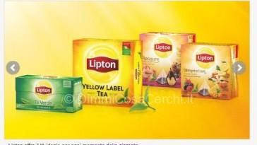 tè Lipton diventa tester con TRND