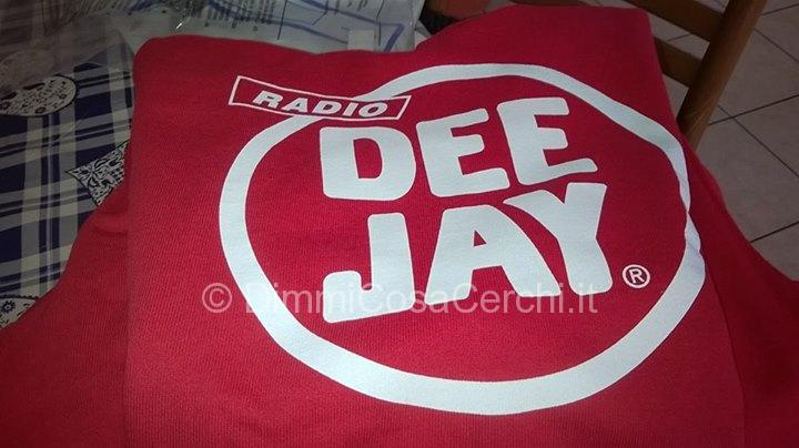 Felpe Radio Deejay vinte con Fonzies