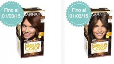 Belle Color Garnier candidati come tester