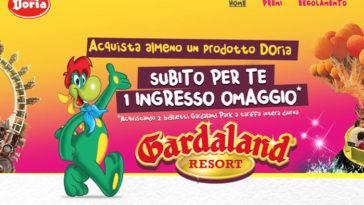 Doria: ingresso omaggio a Gardaland + vinci soggiorni