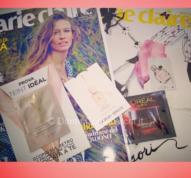 Campioncini sulla rivista MarieClaire di Marzo