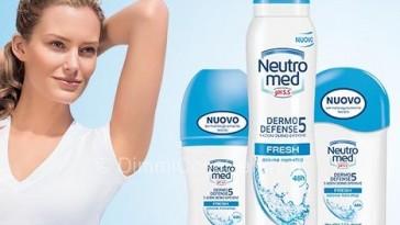 Neutromed deodorante omaggio da Carrefour