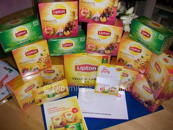 Tè Lipton in omaggio grazie a Trnd