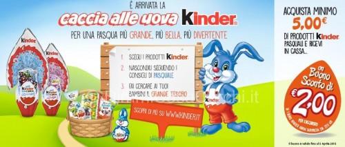 Buono sconto Kinder da Carrefour
