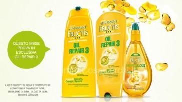 Diventa tester di Fructis Oil Repair 3
