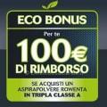 Eco bonus Rowenta aspirapolvere