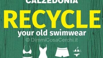 Calzedonia ricicla il vecchio costume