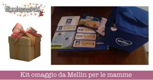 Kit omaggio da Mellin per le mamme