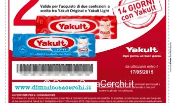 Vota lo spot Yakult e stampa il tuo buono sconto