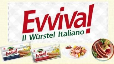 Buoni sconto Amadori EVVIVA Wurstel