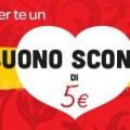 Buono sconto Carrefour da 5 euro