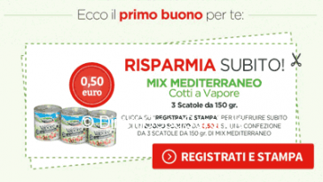 Nuovo coupon Valfrutta Mix Mediterraneo