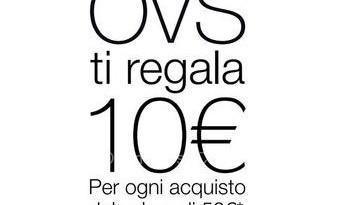 Oviesse ti regala un buono sconto da 10 euro