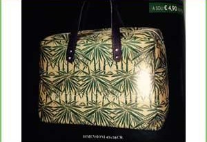 Rivista Amica con borse Bamboo Set