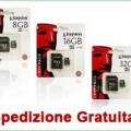 Schede MicroSD Kingston a solo 5,99 euro