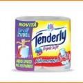 100 rotoli di carta igienica Tenderly