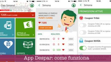 App Despar: come funziona