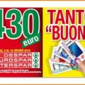 Despar ti regala 430 euro di buoni sconto