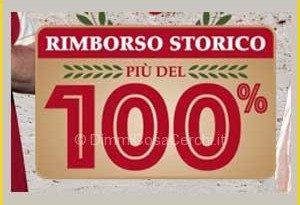 Carrefour rimborso storico