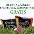 Capsule Espresso compostabile omaggio
