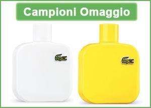 Campioni omaggio profumo Lacoste