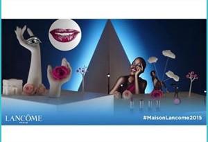 Omaggio Lancôme per i suoi Otto Decenni di Bellezza alla Francese