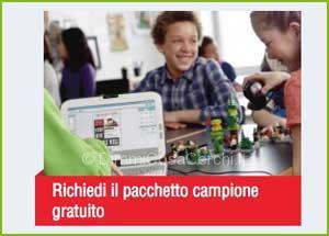 Campioni omaggio Lego education