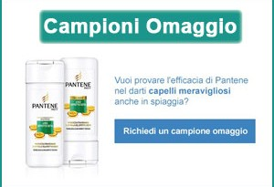 Campioni omaggio Shampoo + Balsamo Pantene Lisci Effetto Seta