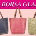 Allegato alla rivista Grazia la borsa Glam in 3 colori