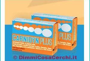 Campioni omaggio integratori Carnidyn Plus