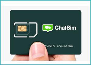 ChatSim ti fa chattare gratis e senza limiti con tutti