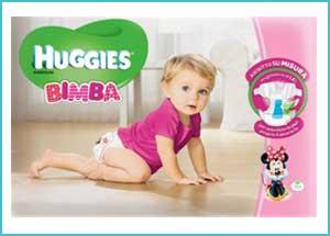 Scopri i nuovi pannolini Huggies® Bimbo e Bimba