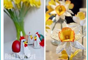 modi creativi per riciclare i cartoni delle uova