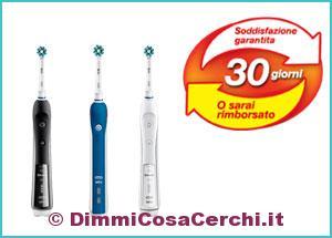Oral b rimborso spazzolino elettrico
