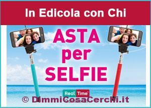 Allegato alla rivista Chi, asta per i selfie
