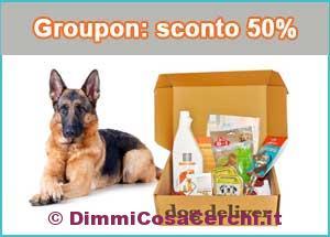 Dog Deliver, su Groupon sconto del 50