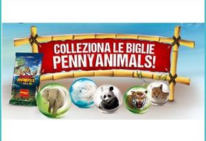 Colleziona le biglie Penny Animal