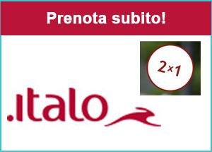 Italo Treno, speciale 2x1 sui biglietti
