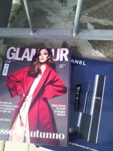 Campione omaggio Chanel allegato a Glamour 2