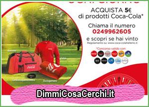 Carrefour ti fa vincere il kit fitness Coca-Cola