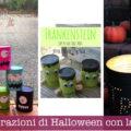 Decorazioni di Halloween con lattine