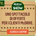 Scarica il coupon McDonald per il McDrive