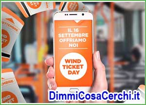 Wind Ticket Day autobus omaggio