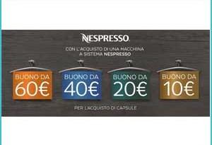 Amazon promozione Nespresso