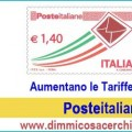 aumento prezzo poste italiane